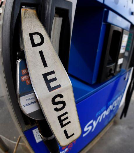 Le diesel au plus haut depuis près de trois ans