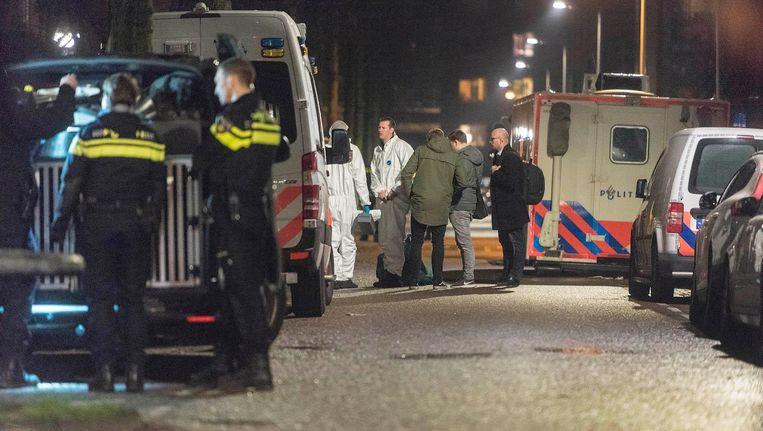 Agenten doen onderzoek op Wittenburg na de dood van Mohammed Bouchkikhi Beeld anp
