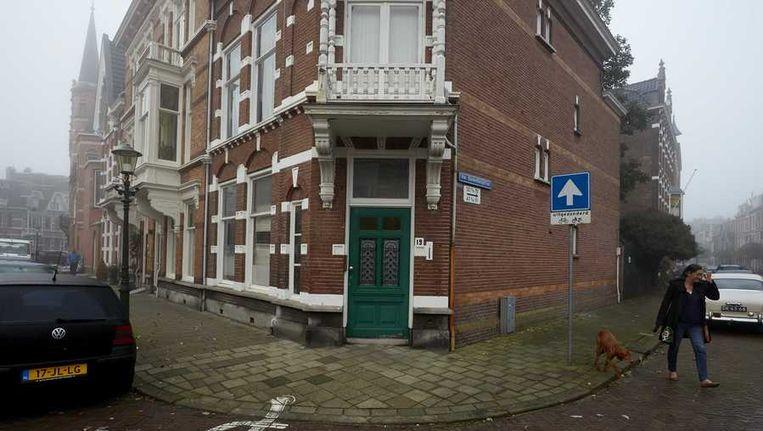 Het onder beheer van de Russische ambassade staande pand aan de Banstraat Beeld anp