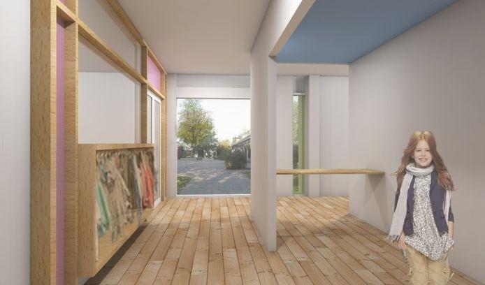 Brede School Heerde-West. Impressie: SVP Architectuur