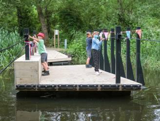 Natuurgebied Oude Schelde heeft weer oversteek: trekveer vervangt versleten brugje