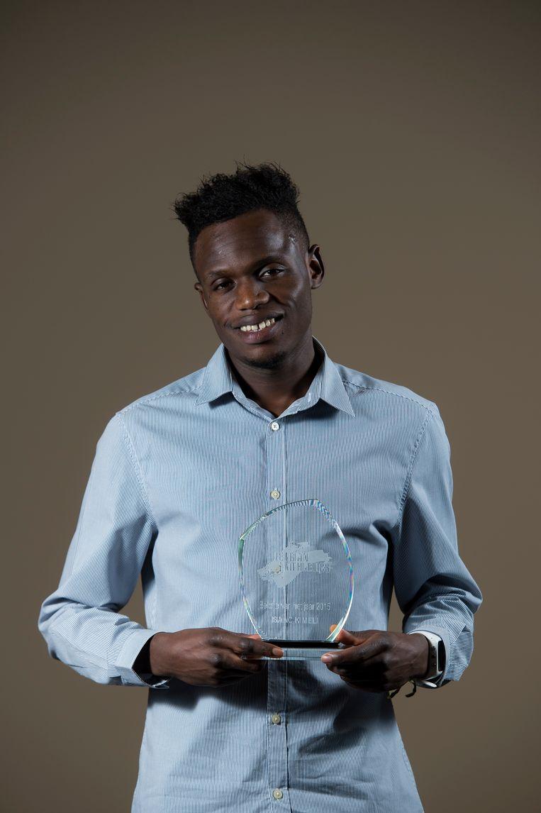 Isaac Kimeli. Beeld BELGA