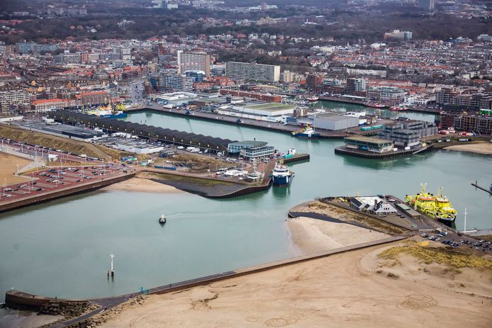 De Scheveningse haven.