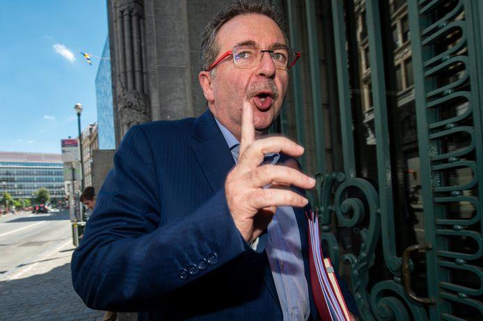 Rudy Vervoort, le ministre-président bruxellois