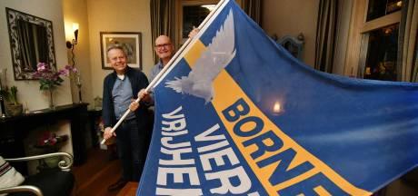 Vrijheidsvlaggen voor noodlijdende Bornse winkeliers