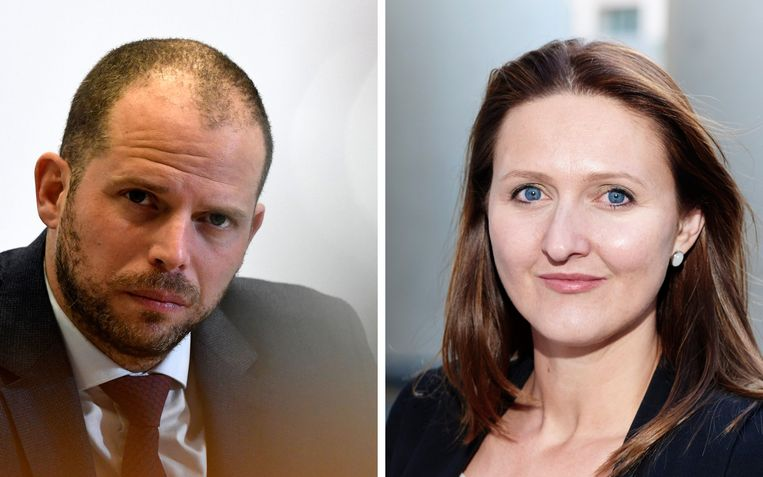 Theo Francken en Gwendolyn Rutten. Beeld Photo News