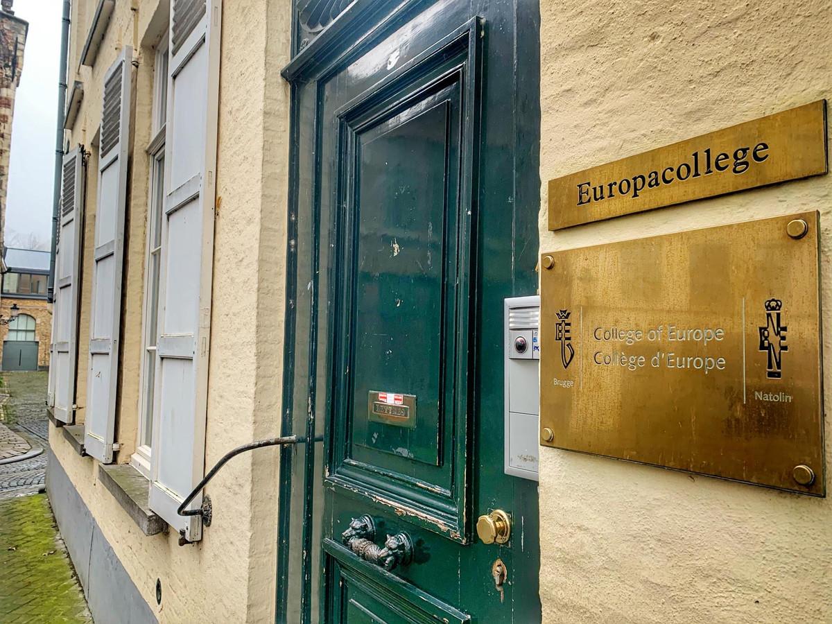 Le Collège de l'Europe a aussi reçu un P.-V.