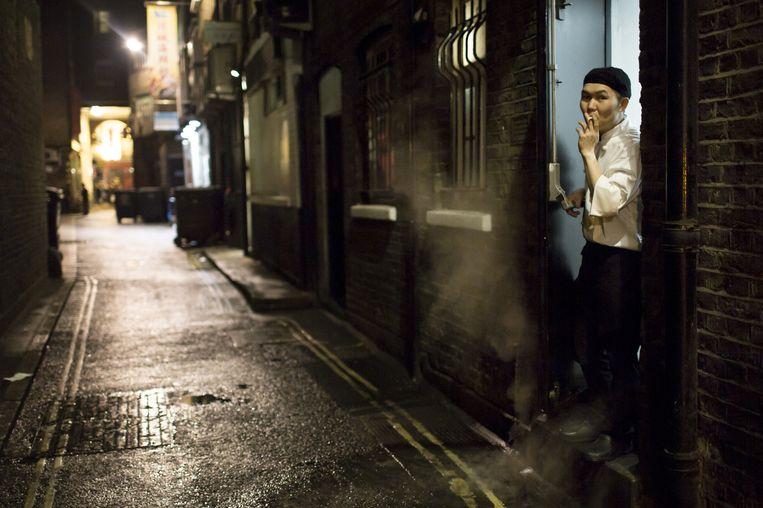 China Town hartje Londen. Beeld Julius Schrank / de Volkskrant