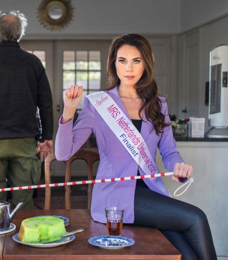 Mrs Universe finaliste Valentina strijdt tegen huiselijk geweld: 'Help ik ben niet veilig, maar kan nu niet praten'
