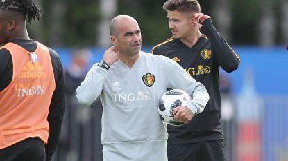 """Martínez heeft het over de sfeer en over Vermaelen & Kompany, Thorgan Hazard """"tevreden over de matrassen"""""""