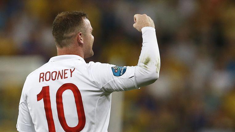 Doelpuntenmaker Wayne Rooney. Beeld ap