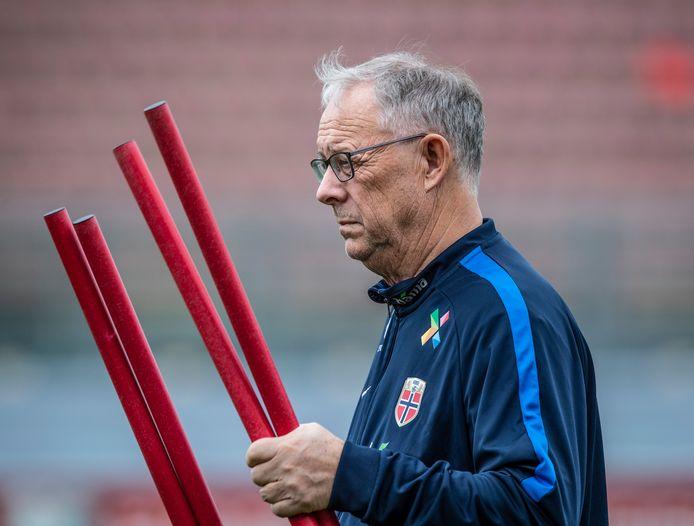 De Noorse bondscoach Lars Lagerbäck