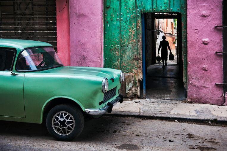 Havana, Cuba, 2010. De auto komt uit Rusland. Beeld Steve McCurry