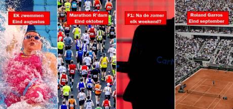 Sportkalender in herfst tjokvol? 'Het is puur scenario-planning'