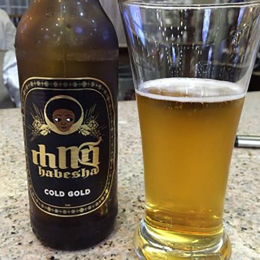Habesha bier uit Ethiopië.