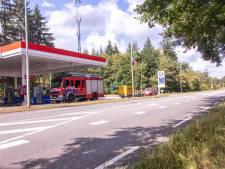 Afsluiting provinciale weg bij tankstation opgeheven, LPG-lekkage wordt gerepareerd