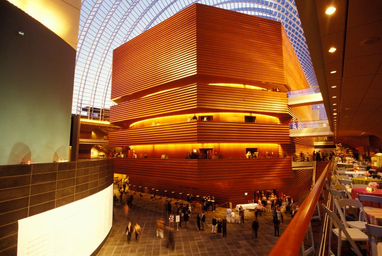 Kimmel Center for the Performing Arts. Beeld Archive Photos