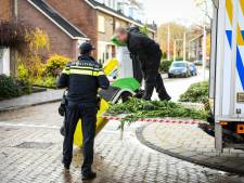 245 wietplanten aangetroffen in woning Javastraat in Alphen