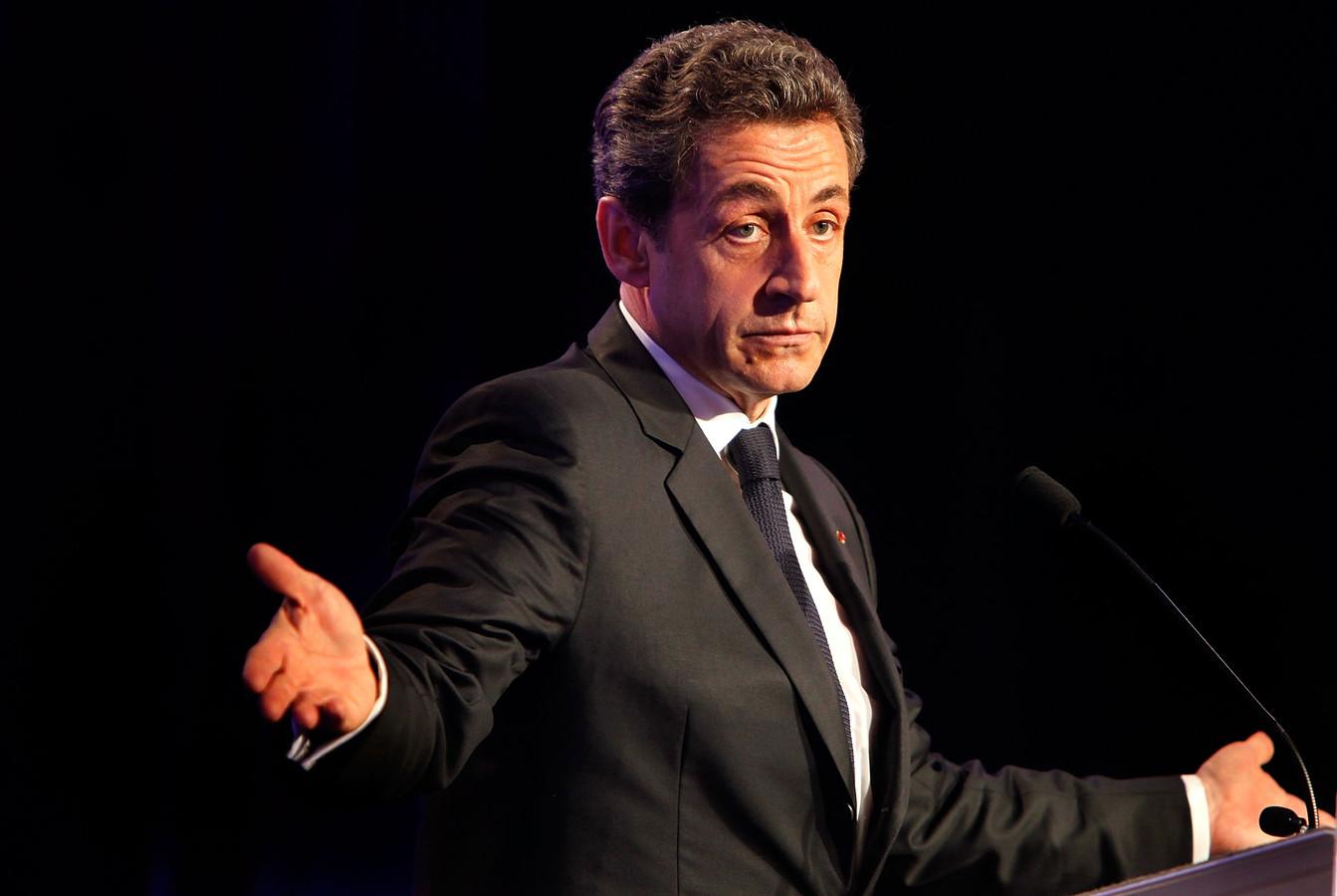 Nicolas Sarkozy en 2012