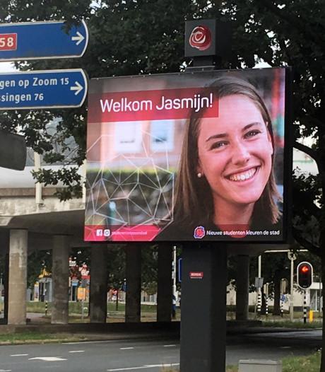 Studenten kleuren Roosendaal