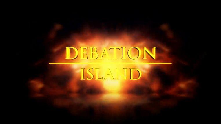 De Ideale Wereld maakt 'Debation Island' van 'Temptation Island'. Beeld De Ideale Wereld