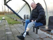 Groningse voetballer met geamputeerd onderbeen is ten einde raad na uitspraak rechter: 'Ik vind dit géén risico van het spel'