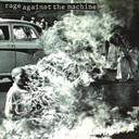 Albumhoes Rage against the machine.