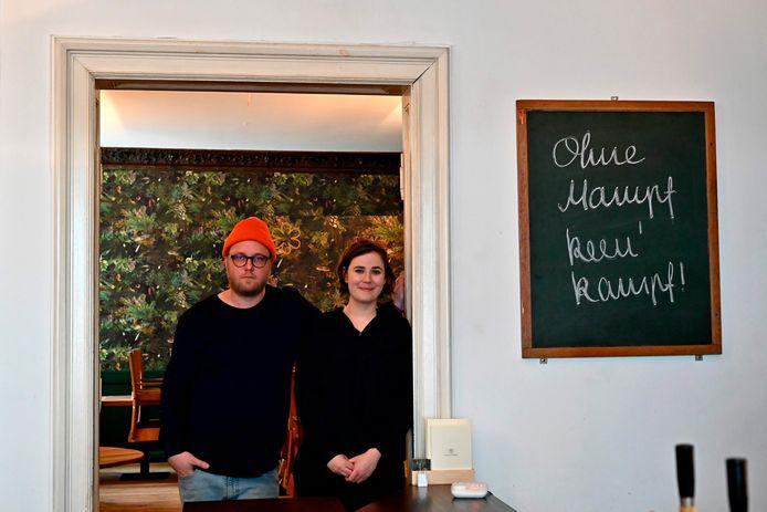 Max Strohe et Ilona Scholl