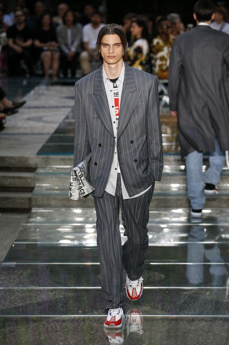 Versace.  Beeld Peter Stigter