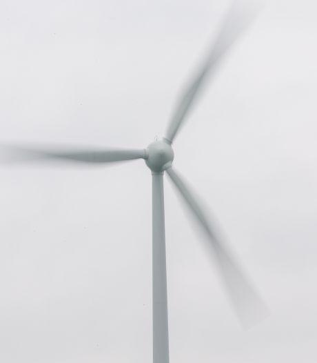 Windmolens langs A2 bij Zaltbommel komen er