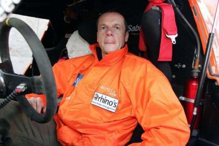 'Fast Freddy' is een duiveltje-doet-al. Hier zit hij aan het stuur van zijn Honda in de Dakar-rally. Beeld UNKNOWN