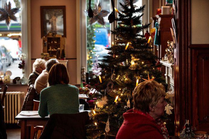 Een sfeerbeeld van genieten tijdens de kerst.
