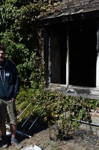 """Dieven steken huis van Joeri in brand na inbraak: """"Terwijl daders achtervolgd werden, sloegen de vlammen al naar buiten"""""""