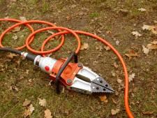 Na ruim twee jaar wordt gestolen gereedschap van de brandweer gevonden in een loods in Den Bosch
