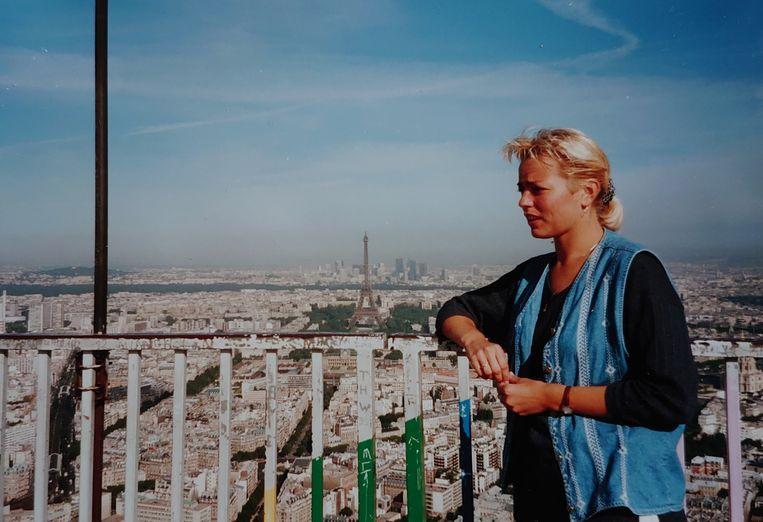 Hilgersom rond haar studietijd in Parijs. Beeld Annelies Hilgersom