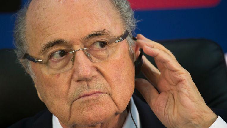 FIFA-president Sepp Blatter. Beeld AP