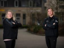 Was alle training van opnieuw begonnen hardloopsters Ellis en Marlou uit Apeldoorn helemaal voor niets?