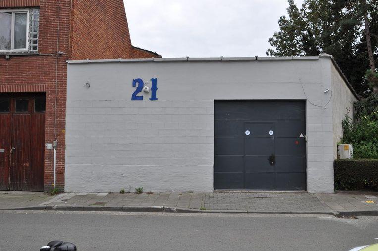 Het clubhuis van de Gentse afdeling van The Blue Angels.