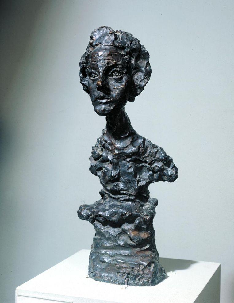 ► Annette IV van Giacometti. 'Brons was niet zijn eerste liefde', zegt curator Frances Morris. Beeld rv Tate