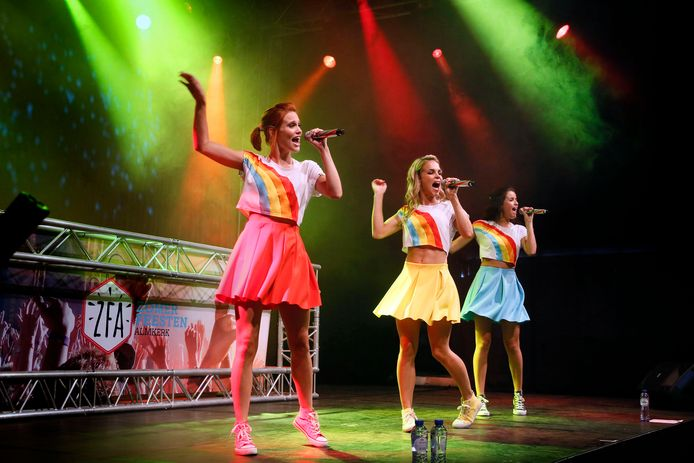 Een optreden van K3, tijdens een eerdere editie van de Zomerfeesten.