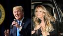 Donald Trump et Stephanie Clifford, aka Stormy Daniels