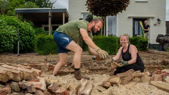Versteend Steenbergen een stuk groener: 'Keihard nodig voor een laaggelegen gemeente'