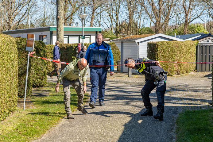 Controle op vakantiepark 't Torentje in Burgh-Haamstede