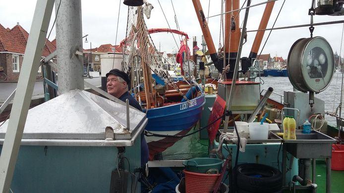 Cor Fondse op de Republiek Zeelandia annex visrokerij Lucky Lobster.