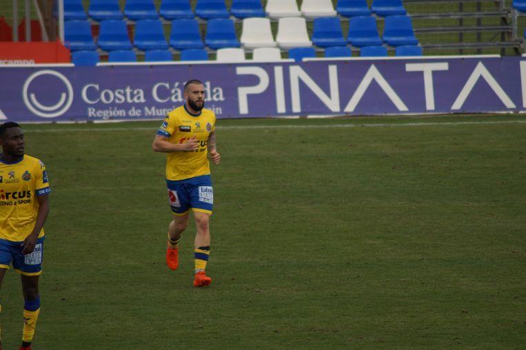 Floriano Vanzo's comeback voor Waasland-Beveren in de oefenmatch tegen Darmstadt.