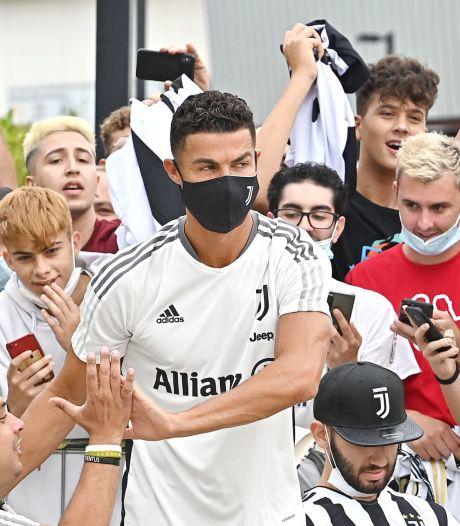 Warm onthaal Ronaldo in Turijn: transfer lijkt van de baan