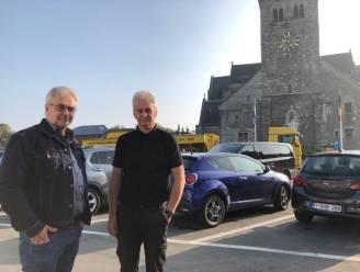 """Plannen voor heraanleg Sint-Genovevaplein in Oplinter botsen op weerstand van lokale handelaars: """"Zo goed als alle parkeerplaatsen verdwijnen. En dus ook onze klanten"""""""