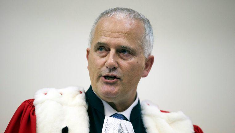 Procureur-generaal Johan Delmulle. Beeld BELGA