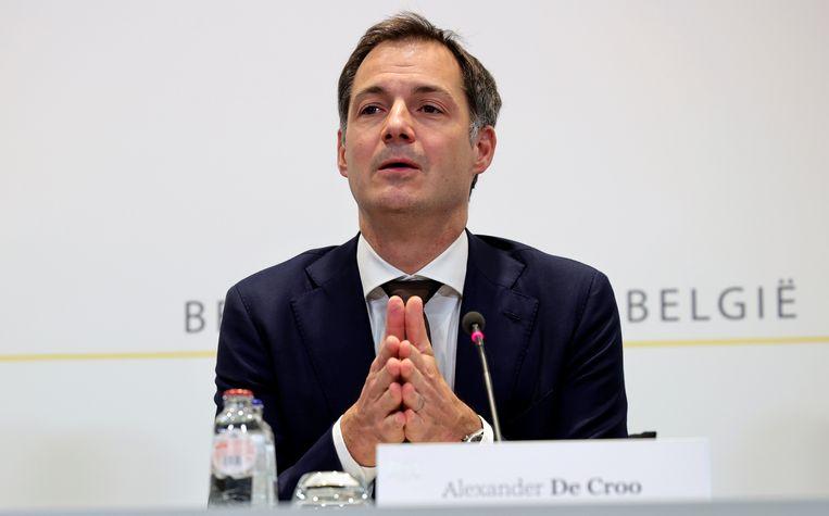 Alexander De Croo. Beeld REUTERS