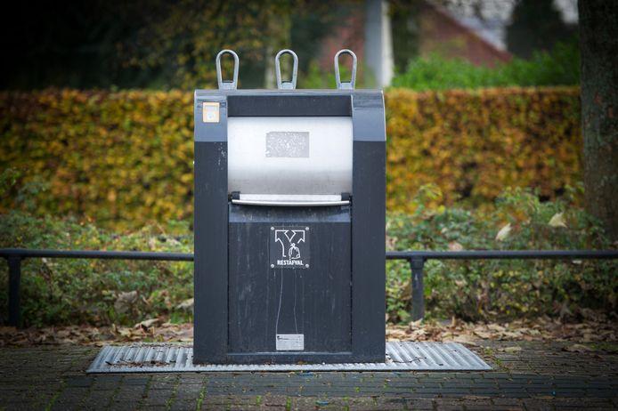 Waalwijk wil ook een proef houden met omgekeerd inzamelen. Bij dit systeem brengen inwoners zelf hun restafval naar ondergrondse containers.
